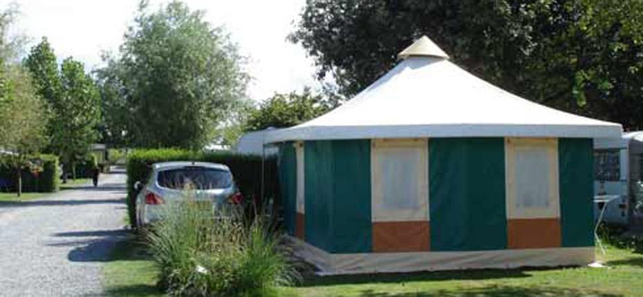 Votre hébergement bungalow en camping dans le Calvados