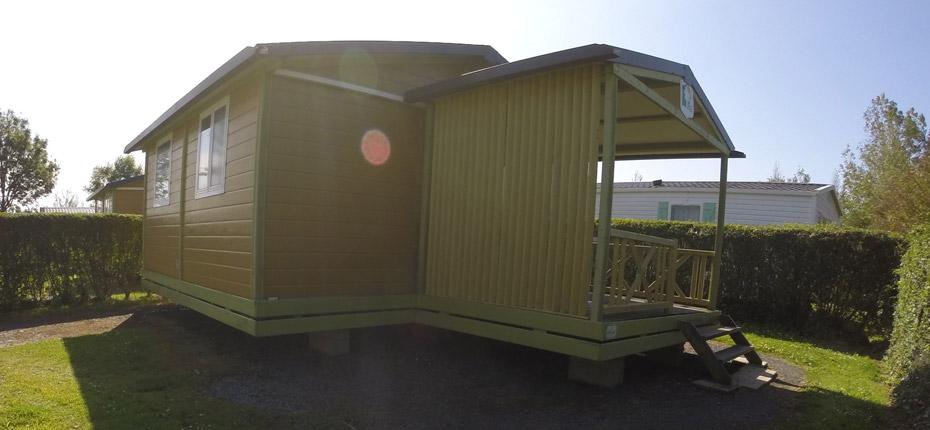 Votre hébergement de chalet en camping dans le Calvados