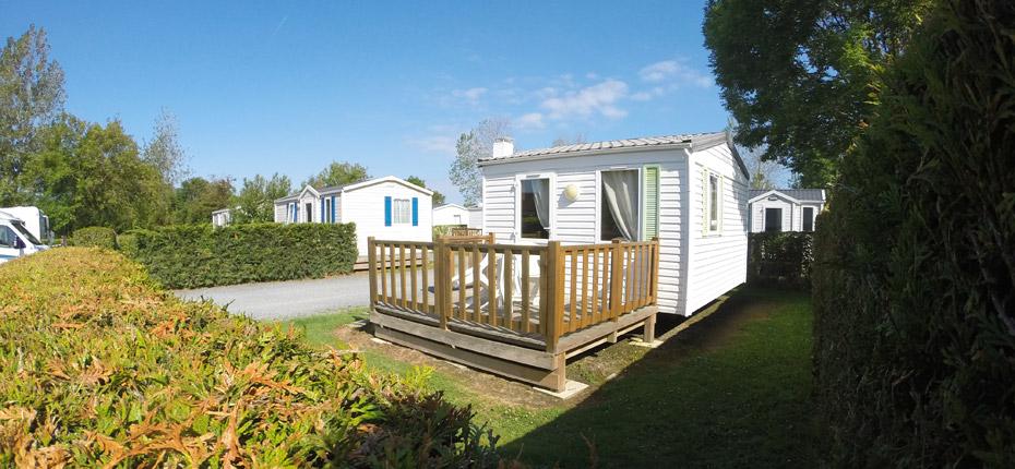 camping avec location de mobil-home en Normandie