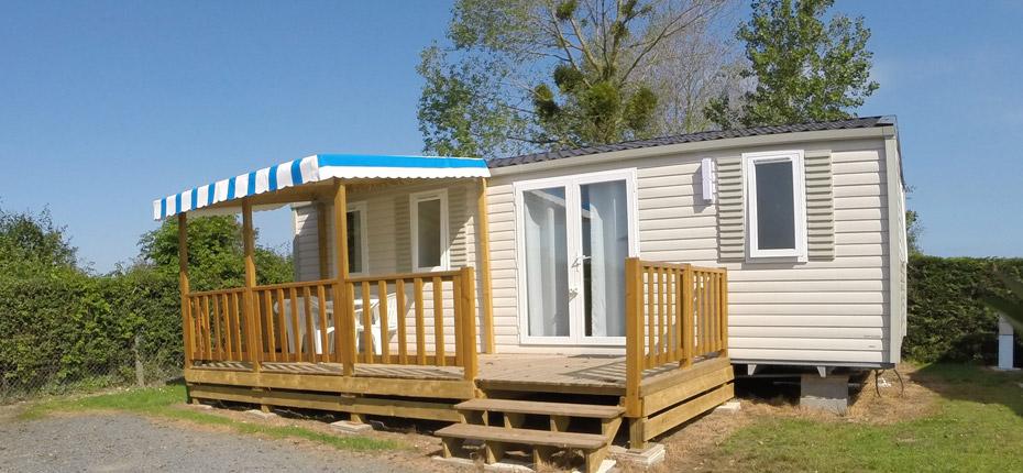 Camping avec location de mobil-homes dans le Calvados