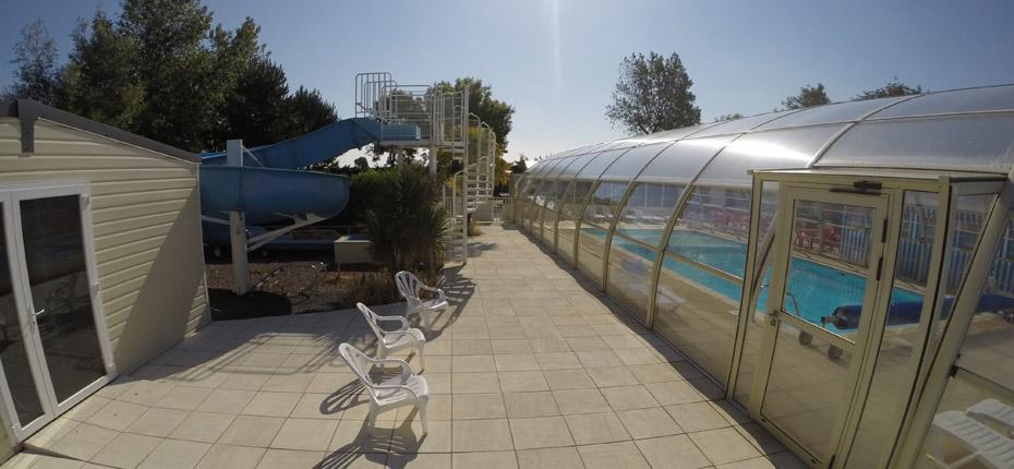 Camping de normandie avec piscine couverte et chauff e for Camping calvados avec piscine couverte