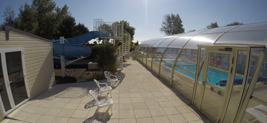 Camping de normandie avec piscine couverte et chauff e for Camping calvados avec piscine