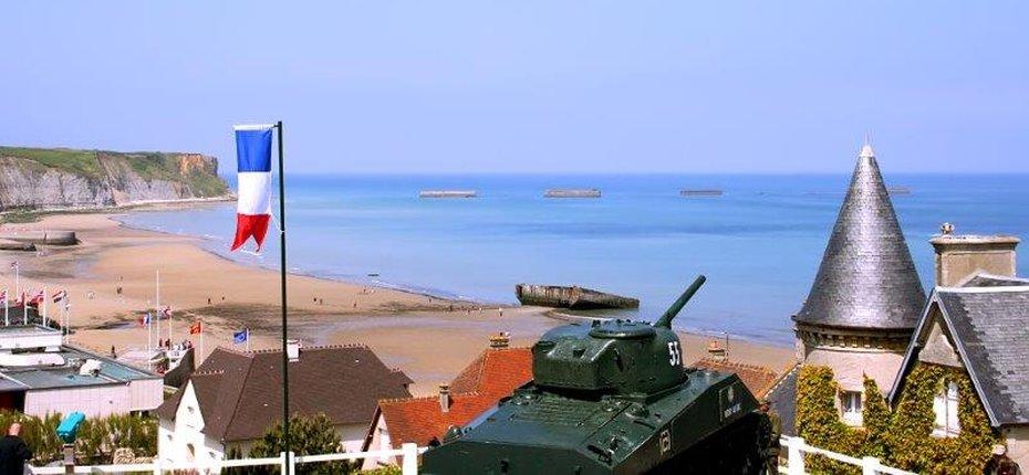 Camping de Normandie proche d'Arromanches